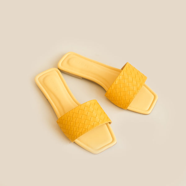 Capri Slipper | Yellow