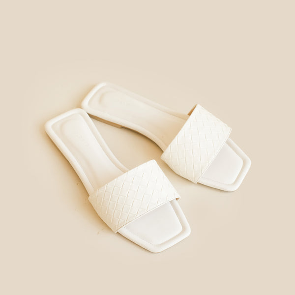 Capri Slipper | White