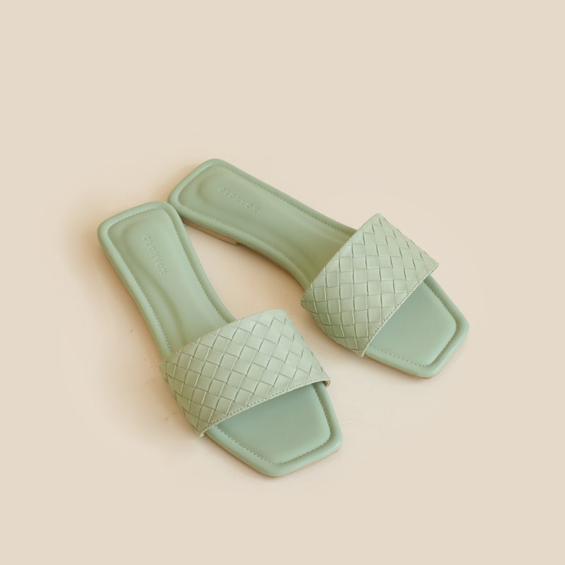 Capri Slipper | Mint