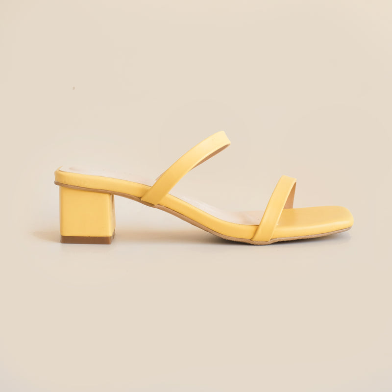 Morine Heels | Yellow