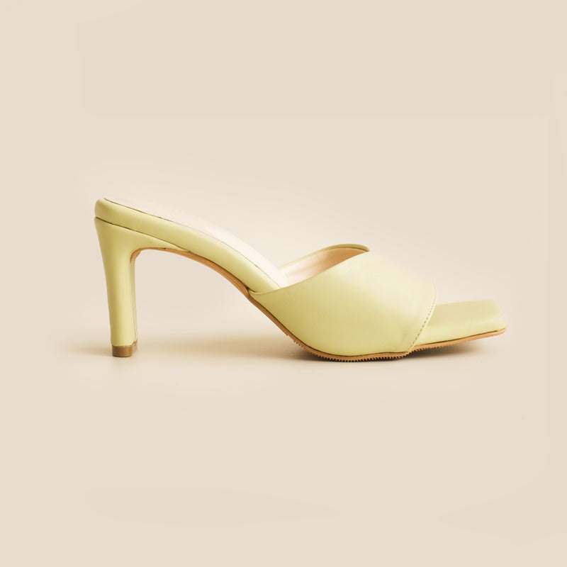 Abbey Heels | Lime
