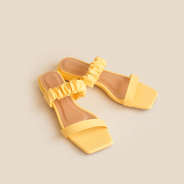 Madison Slipper | Yellow