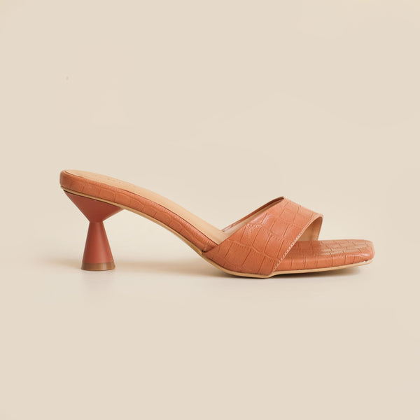 Esme Heels | Brown