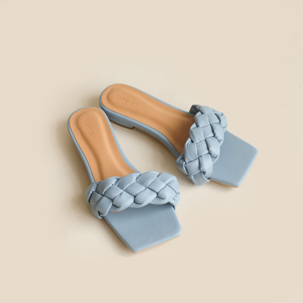 Kyna Slipper | Blue