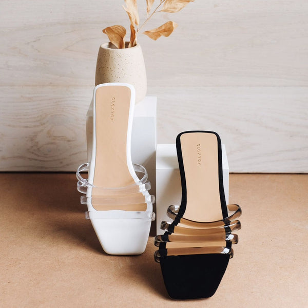 Kyna Slipper | White