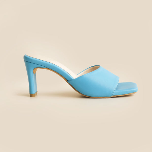 Abbey Heels | Blue
