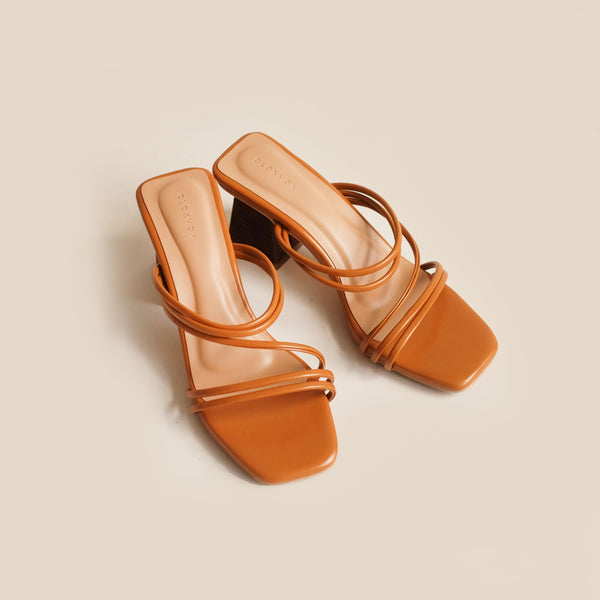 Gion Heels | Brown
