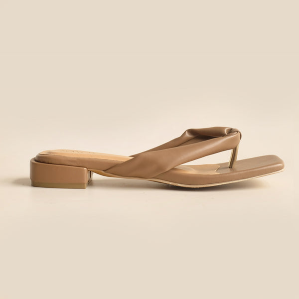 Merilyn Slipper | Taupe