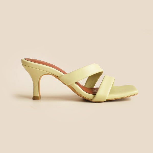 Cella Heels | Lime