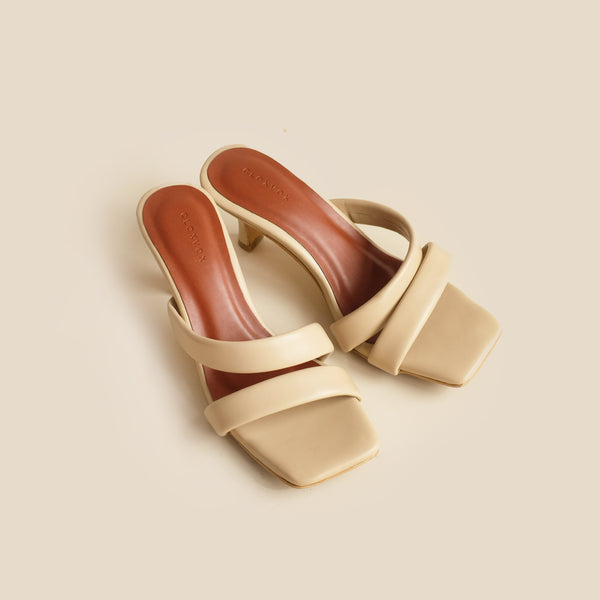 Cella Heels | Beige
