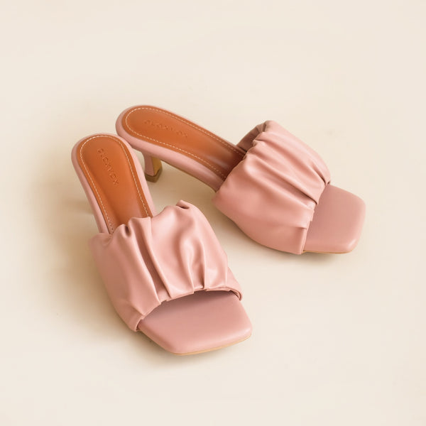 Aria Heels | Dusty Pink