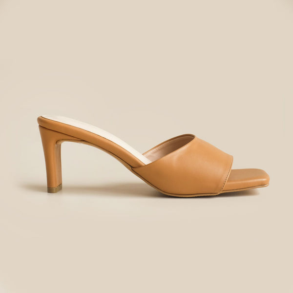 Abbey Heels | Nude