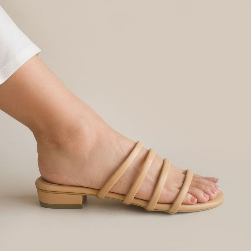 Won Slipper | Nude