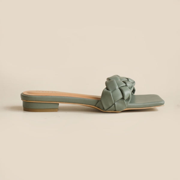 Kyna Slipper | Green