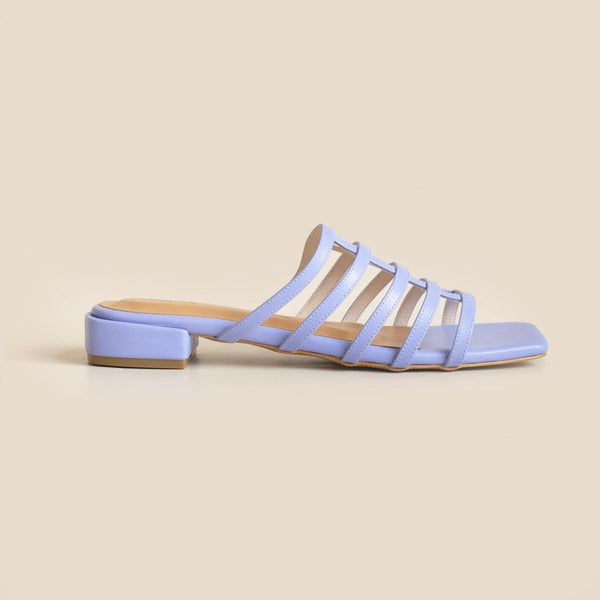 Rubic Sandals | Periwinkle Blue