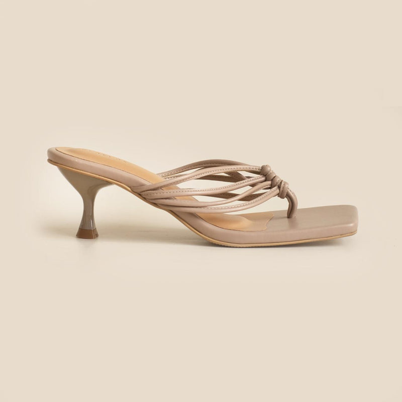 Darcy Heels | Taupe