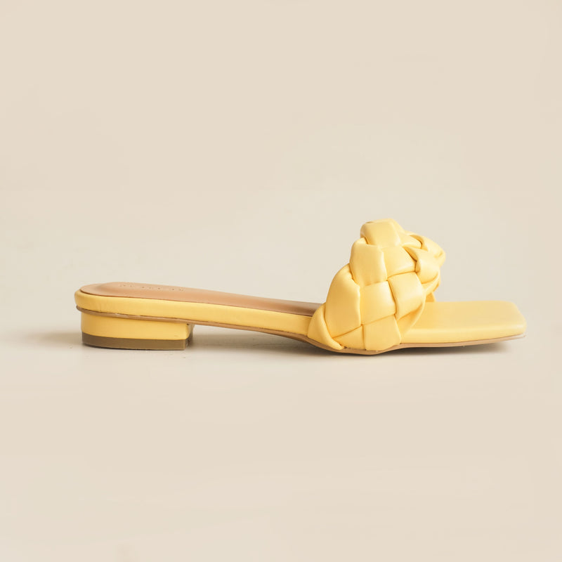 Kyna Slipper | Yellow