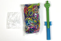 Easter Rubber Band Craft Kit with Green Color Hook