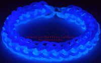 RL Band (Jelly) Electric Blue Glow