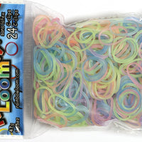 RL Band (Jelly) Glow in the Dark Pastel Mixed