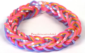 RL Band (Pearl 300) Turquoise & Hot Pink