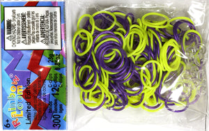 RL Band (Limited Edition) Neon Yellow n Royal Purple