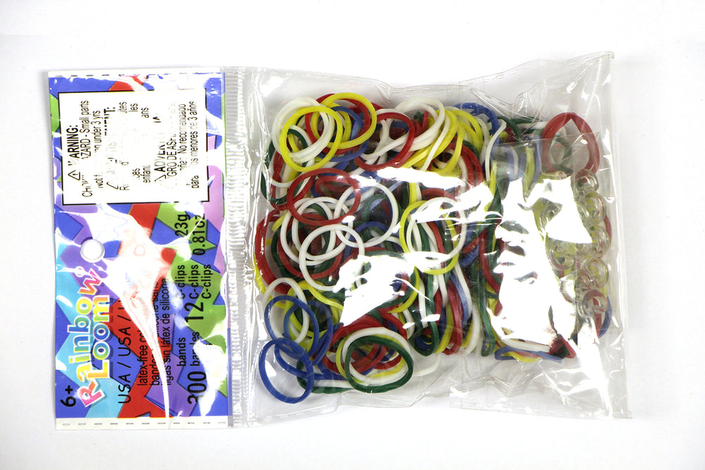 RL Band (Silicone 300) Olympic Ring Bands, a.k.a USA Theme