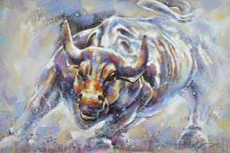 Bullish Statement - Paintingsonline