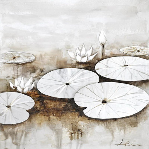 Lilies and Lily Ponds 2 - Paintingsonline
