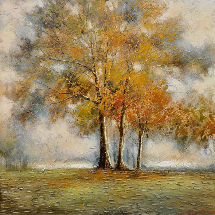 Flame Trees - Paintingsonline