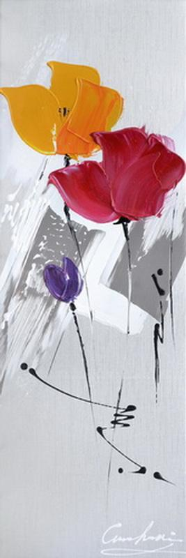 Floral Strokes - Paintingsonline