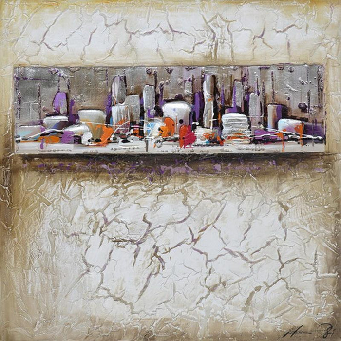 Cracks In A City - Paintingsonline