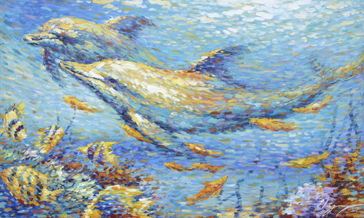 Dolphin Dots - Paintingsonline