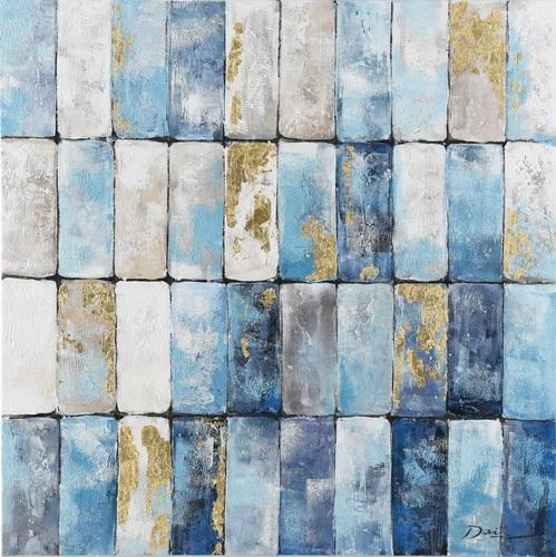 Blue Bricks - Paintingsonline