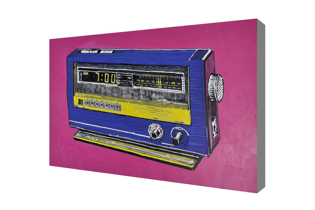 Vintage Radio Pop Art