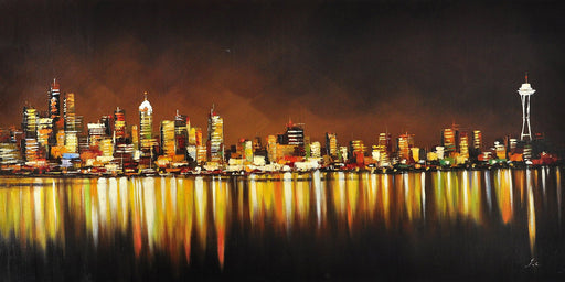 Amber Lights - Paintingsonline