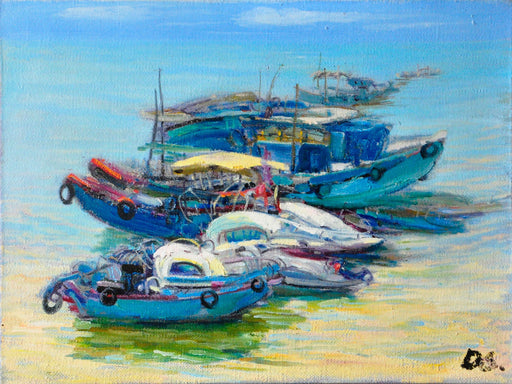 Low Tide - Paintingsonline