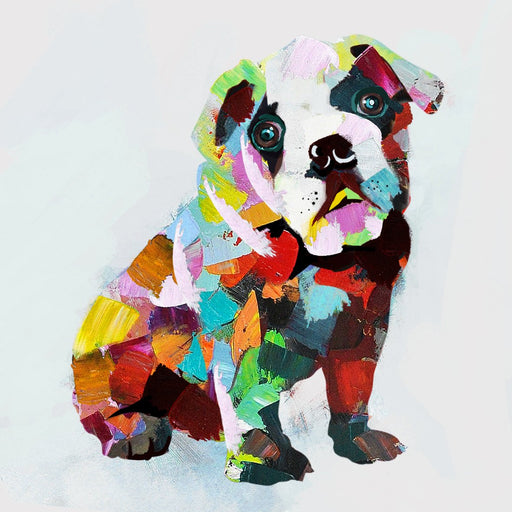 Little Bulldog - Paintingsonline
