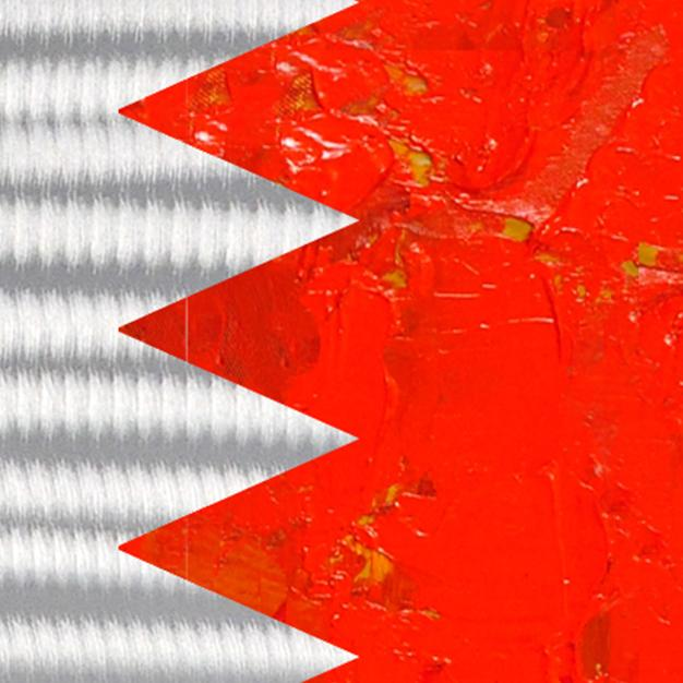 Bahrain Flag - Paintingsonline