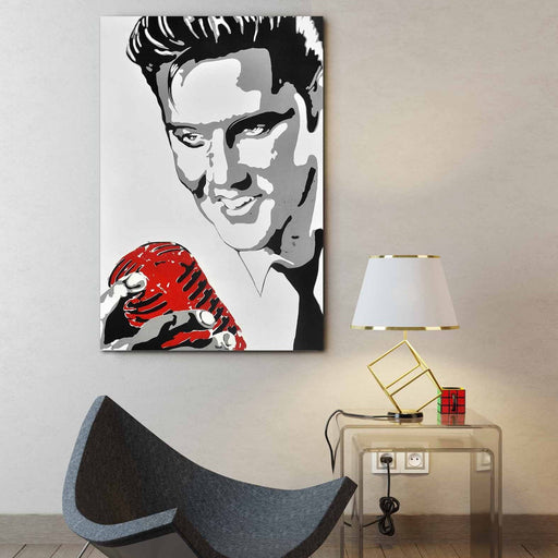 Elvis Pop Art - Paintingsonline