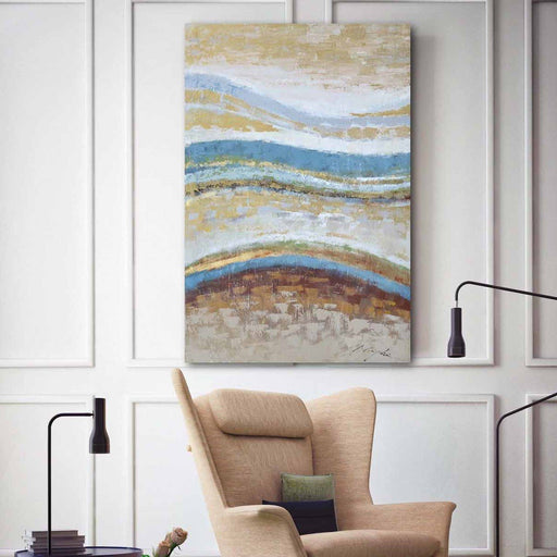 Abstract Waves - Paintingsonline