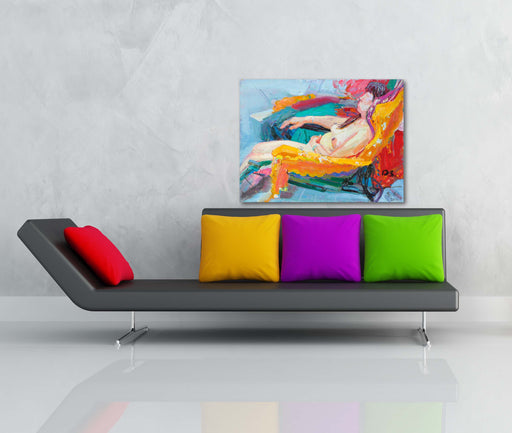 The Lounger - Paintingsonline