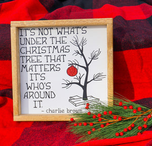 Charlie Brown Quote