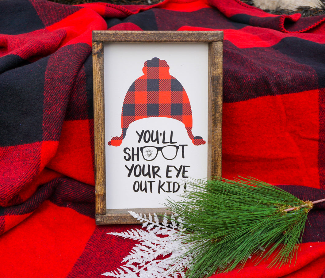 A Christmas Story Farmhouse Sign
