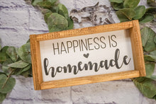 Load image into Gallery viewer, Happiness is Homemade Farmhouse Sign