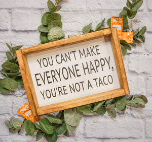 Taco Farmhouse Sign