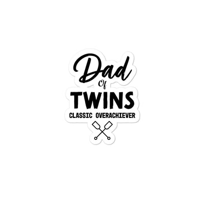 Dad of Twins Bubble-free stickers - Darilambu