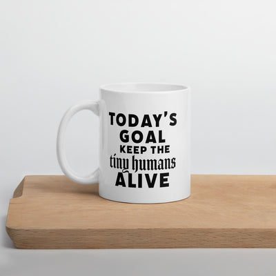 Keep The Tiny Humans Alive Coffee Mug - Darilambu
