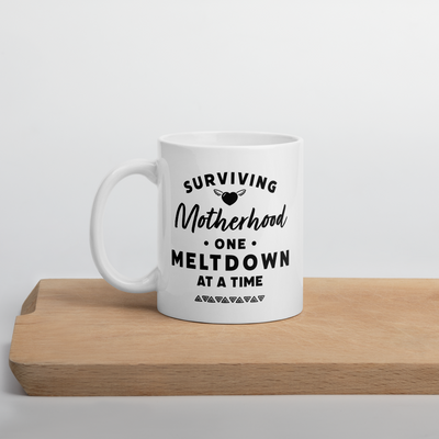 Surviving Motherhood Coffee Mug - Darilambu