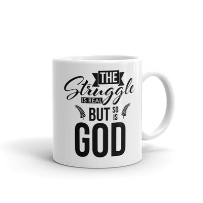 The Struggle Is Real - Coffee Mug - Darilambu